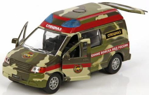 Машина Пламенный мотор 1:32 Спецназ ВВ МВД России 18 см камуфляж 870076 пламенный мотор машинка инерционная volvo пожарная охрана