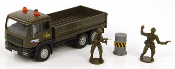 Войска Пламенный мотор Армейский грузовик 20 см хаки 870089