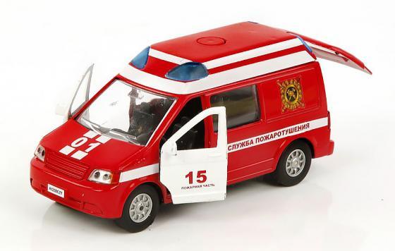 Пожарная машина Пламенный мотор 1:32 Служба пожаротушения 18 см красный 870067 машина пламенный мотор служба пожаротушения 870067