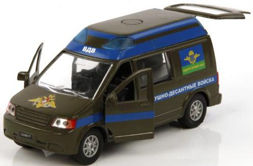 Машина Пламенный мотор 1:32 ВДВ Никто кроме нас 17 см 870069 пламенный мотор машинка инерционная volvo пожарная охрана