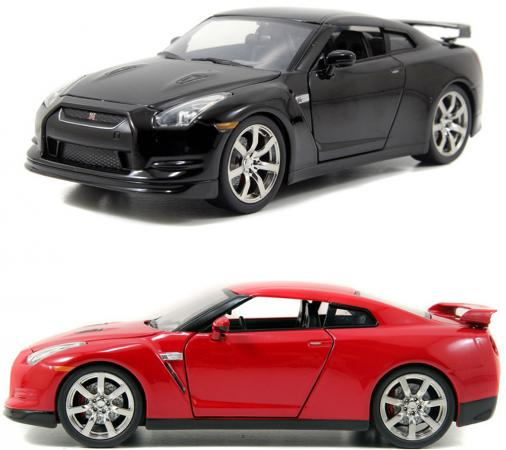 Автомобиль Autotime Nissan GT-R 1:64 цвет в ассортименте 49944 nikko машина nissan skyline gtr r34 street warriors 1 10 901584 в перми