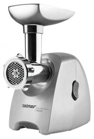 Электромясорубка Zelmer ZMM2084XRU 260 Вт серебристый zelmer zfd1250w 4под белый