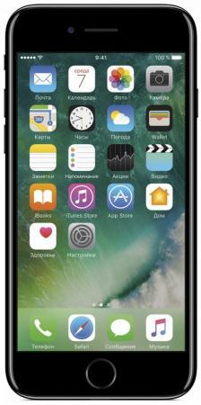 Смартфон Apple iPhone 7 черный оникс 4.7 128 Гб NFC LTE Wi-Fi GPS 3G MN962RU/A смартфон apple iphone 6s серебристый 4 7 128 гб nfc lte wi fi gps 3g mkqu2ru a
