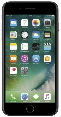 Смартфон Apple iPhone 7 Plus черный 5.5 128 Гб NFC LTE Wi-Fi GPS 3G MN4M2RU/A смартфон nokia 7 plus черный 6 64 гб nfc lte wi fi gps 3g