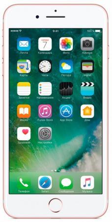 Смартфон Apple iPhone 7 Plus розовое золото 5.5 128 Гб NFC LTE Wi-Fi GPS 3G MN4U2RU/A смартфон htc u ultra brilliant black qualcomm snapdragon 821 4 гб 128 гб 7 2560x1440 12mp 16mp dualsim 3g lte bt android 7 0