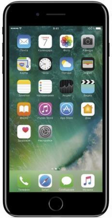 Смартфон Apple iPhone 7 Plus черный оникс 5.5 128 Гб NFC LTE Wi-Fi GPS 3G MN4V2RU/A смартфон apple iphone 8 64gb silver mq6h2ru a apple a11 2 gb 64 gb 4 7 1334x750 12mpix 3g 4g bt ios 11