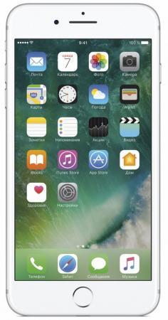 Смартфон Apple iPhone 7 Plus серебристый 5.5 256 Гб NFC LTE Wi-Fi GPS 3G MN4X2RU/A смартфон asus zenfone live zb501kl золотистый 5 32 гб lte wi fi gps 3g 90ak0072 m00140