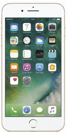 Смартфон Apple iPhone 7 Plus золотистый 5.5 32 Гб NFC LTE Wi-Fi GPS 3G MNQP2RU/A смартфон apple iphone 7 plus