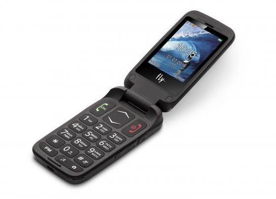 Мобильный телефон Fly Ezzy Trendy 3 серый 2.4 32 Мб мобильный телефон fly ff178 белый 1 77 32 мб