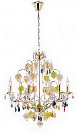 Подвесная люстра Arte Lamp Ricchezza A2011LM-6GO подвесная люстра arte lamp ricchezza a2011lm 6go