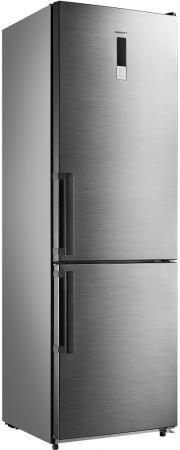 Холодильник Kraft KFHD-400RINF серебристый домкрат kraft кт 800026