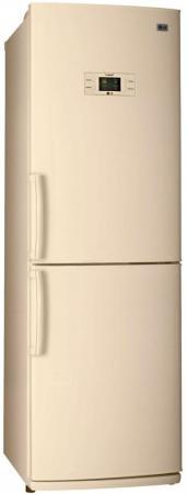 Холодильник LG GA-B409UEQA бежевый холодильник lg ga b489zecl бежевый