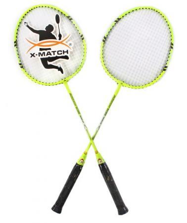 Спортивная игра бадминтон X-Match 635056 lover enpex три положить на бадминтон clapper пластиковые сетки плюшевые ручной работы бадминтон пот свитер с голубой