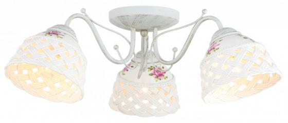 Потолочная люстра Arte Lamp Wicker A6616PL-3WG цена и фото