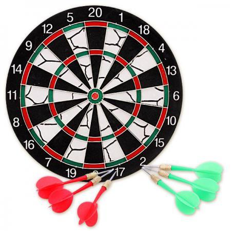 Спортивная игра дартс X-Match 15 дюймов 63524 спортивная игра x match бадминтон 635050