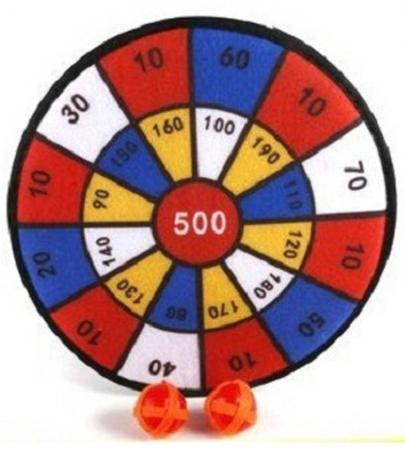 Спортивная игра дартс Shantou Gepai Shoot Hot с шариками-липучками 883 настольная игра shantou gepai аэрофутбол 5016