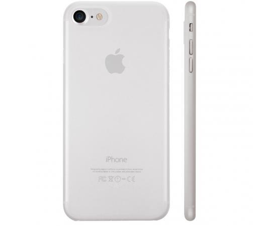 Чехол Ozaki O!coat 0.3 Jelly для iPhone 7 прозрачный OC735TR защитный бампер ozaki o coat 0 3 bumper для iphone 7