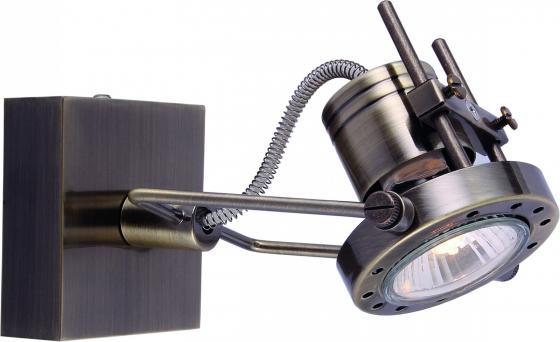Спот Arte Lamp Costruttore A4300AP-1AB подсветка costruttore a4300ap 2ab 2х50вт gu10 металл античная бронза