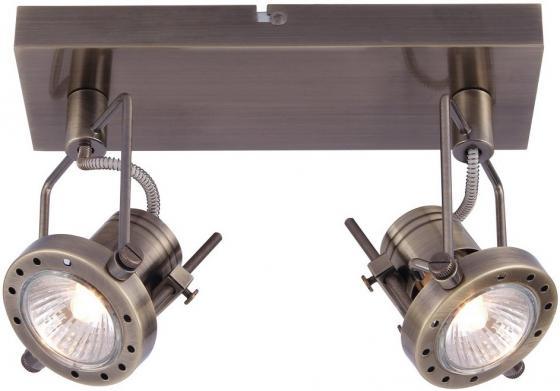 Спот Arte Lamp Costruttore A4300AP-2AB подсветка costruttore a4300ap 2ab 2х50вт gu10 металл античная бронза