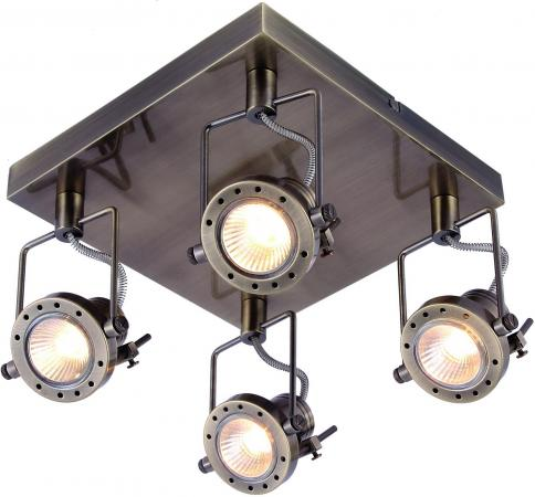 Фото - Спот Arte Lamp Costruttore A4300PL-4AB спот arte lamp costruttore a4300pl 4ab