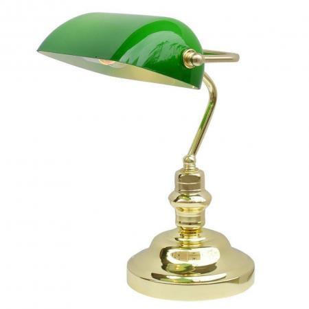 Настольная лампа Arte Lamp Banker A2491LT-1GO
