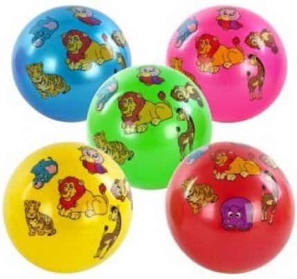 Фото - Мяч детский латексный Shantou Gepa 23см, в ас-те, двусторонняя наклейка игрушка мяч машинка 23см 2600
