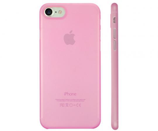 Накладка Ozaki O!coat 0.3 Jelly для iPhone 7 розовый OC735PK чехол для iphone 7 ozaki o coat 0 3 jelly розовый