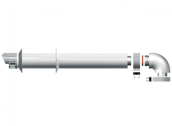 Protherm Набор труб 60/100 1000 мм (Пантера с июня 2015 года) (Мощность, кВт: -, Одноконтурный/двухконтурный: -, Камера сгорания открытая/закрытая: -)