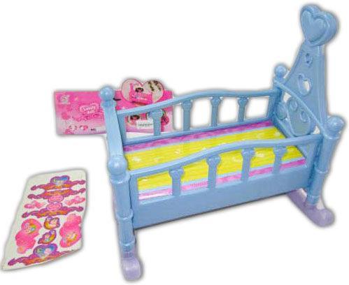 Кроватка для кукол Shantou Gepai 60553P замок для кукол shantou gepai my dreamy