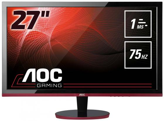 Монитор 27 AOC G2778VQ черный красный TFT-TN 1920x1080 300 cd/m^2 1 ms HDMI Аудио VGA DisplayPort монитор aoc i2475pxqu