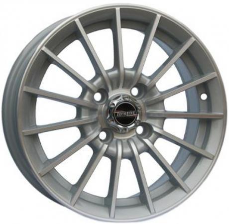 Диск Tech Line 532 6xR15 4x100 мм ET45 Silver колесные диски tech line 728 7 5x17 5x114 3 d67 1 et45 bd