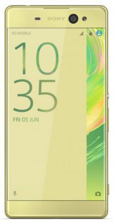 Смартфон SONY Xperia XA Ultra лайм золотистый 6 16 Гб NFC LTE Wi-Fi GPS 3G F3211 смартфон asus zenfone live zb501kl золотистый 5 32 гб lte wi fi gps 3g 90ak0072 m00140