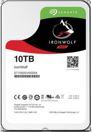 Жесткий диск 3.5 10Tb 7200rpm Seagate SATAIII ST10000VN0004 жесткий диск 10tb seagate ironwolf st10000vn0004