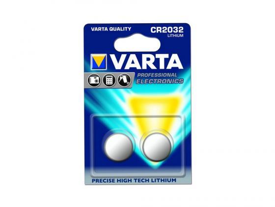 Батарейки Varta Professional Electronics CR2032 2 шт купить аккумуляторные батареи varta cr 1 2 slf в рязани