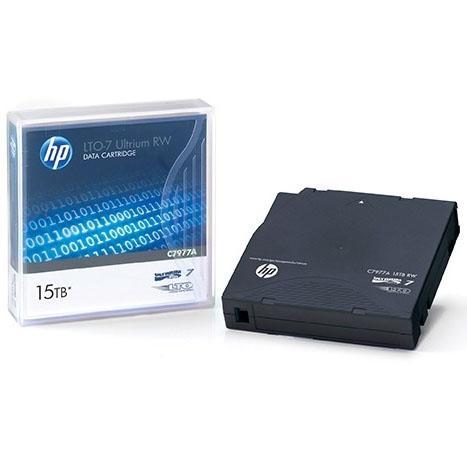 Ленточный картридж HP LTO-7 Ultrium 15TB RW Data C7977A цена в Москве и Питере