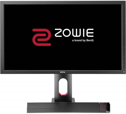 Монитор 27 BENQ XL2720 Zowie черный TN 1920x1080 300 cd/m^2 1 ms DVI HDMI DisplayPort VGA USB new usb programmer kit for burning m nt68676 2a hdmi dvi vga audio lcd controller board windows xp w7