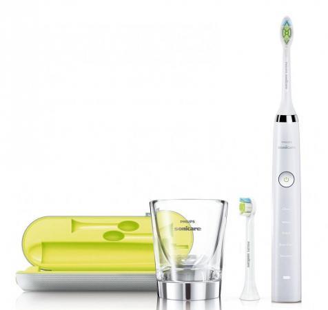 Зубная щётка Philips Sonicare DiamondClean HX9332/35 белый зубная щётка philips sonicare 2 series hx6232 41 2шт