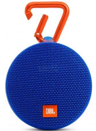 Акустическая система JBL Clip 2 синий JBLCLIP2BLUE парфюмированная вода hugo boss boss bottled intense 100мл