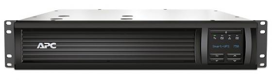 ИБП APC Smart-UPS SMT 750VA 500W SMT750RMI2UNC ибп apc smart 750va sua750i