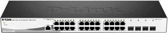 Коммутатор D-Link DGS-1210-28/ME/A2A управляемый 24 порта 10/100/1000Mbps 4xSFP коммутатор d link dgs 1210 20 me a1a