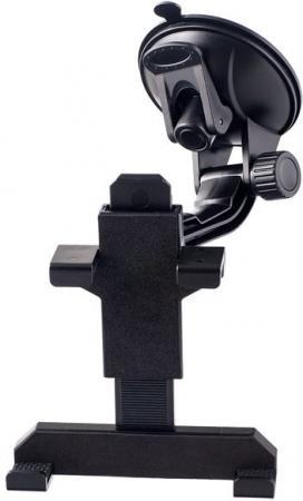 Автомобильный держатель Perfeo PH-707-2 6-8 на стекло пластик черный автодержатель perfeo 515 для смартфона до 5 8 на стекло угловой черный серый