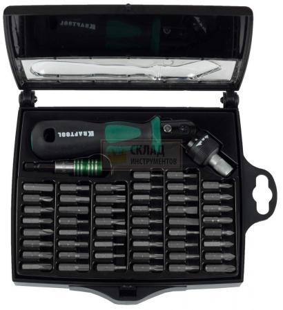 Набор отверток Kraftool PRO-KRAFT 52шт 25555-H52 клещи переставные kraftool kraft max 22011 10 25