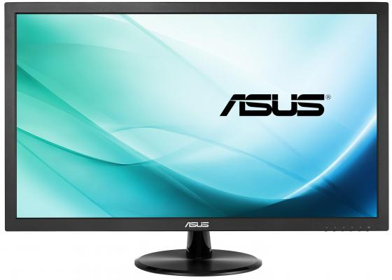 Монитор 21.5 ASUS VP229HA черный VA 1920x1080 250 cd/m^2 5 ms HDMI VGA Аудио монитор 23 samsung c24f396fhi черный va 1920x1080 250 cd m^2 4 ms hdmi vga аудио