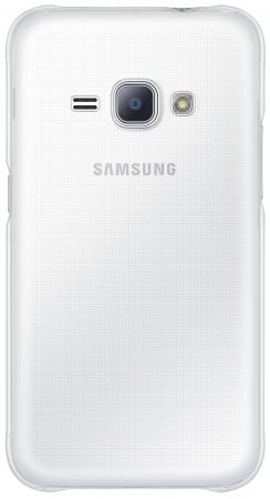 Чехол Samsung EF-AJ120CTEGRU для Samsung Galaxy J1 2016 Slim Cover прозрачный samsung ef wj120pwegru для galaxy j1 2016 flip wallet white