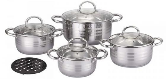 Набор посуды Bekker BK-2882 9 предмета набор посуды bekker deluxe из 13 ти предметов вк 2862