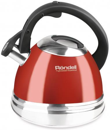 Чайник Rondell Fiero RDS-498 красный 3 л нержавеющая сталь rondell rda 498 fiero