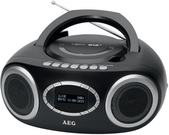 Магнитола AEG SR 4370 schwarz DAB+ aeg mr 4139 bt schwarz bluetooth радиоприемник