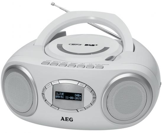 Магнитола AEG SR 4370 weis DAB+ магнитола aeg sr 4372 белый