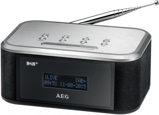 Радиоприемник AEG MRC 4148 DAB+ чёрный серебристый aeg mr 4139 bt schwarz bluetooth радиоприемник