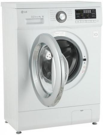 Стиральная машина LG FH0B8ND3 белый стиральная машина узкая lg f12u1hbs4